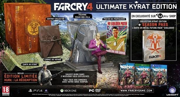 Actualité - Far Cry 4 - nouvelles informations - Ultimate Kyrat Edition
