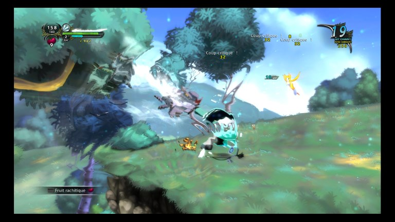 Test - Dust : An Elysian Tail - navigation et gameplay