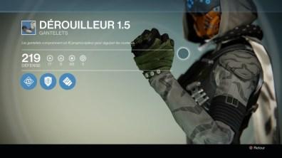Gantelets : Dérouiller 1.5