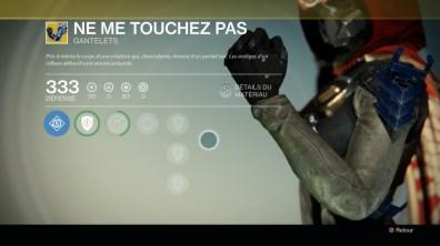 Ne me touchez pas