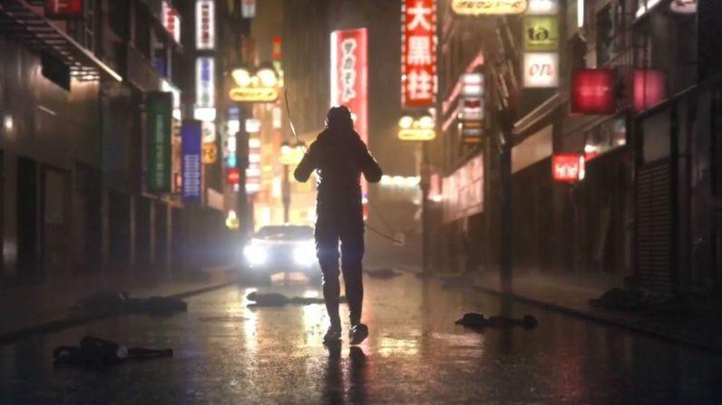 L'image ci-dessus est tirée du site officiel et montre bien ce qui semble être le protagoniste de Ghostwire.