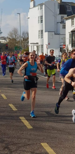 Brighton Marathon Becks Macey (2)