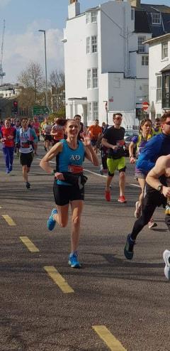 Brighton Marathon Becks Macey (2)