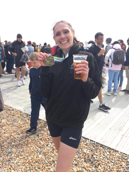 Brighton Marathon Becks Macey