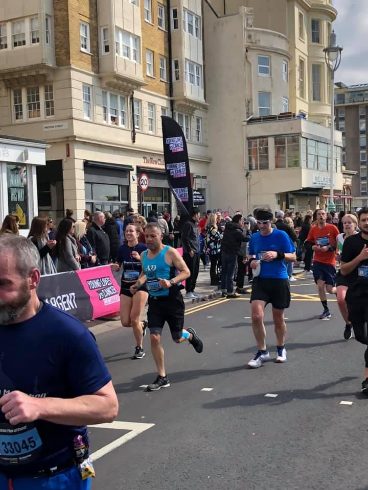 Brighton Marathon Carl Ireland (2)