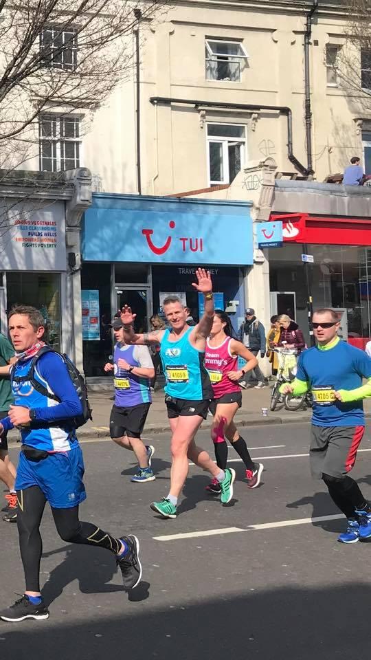Brighton Marathon Keith Lynn