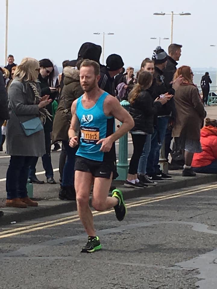 Brighton Marathon Paul Ridley