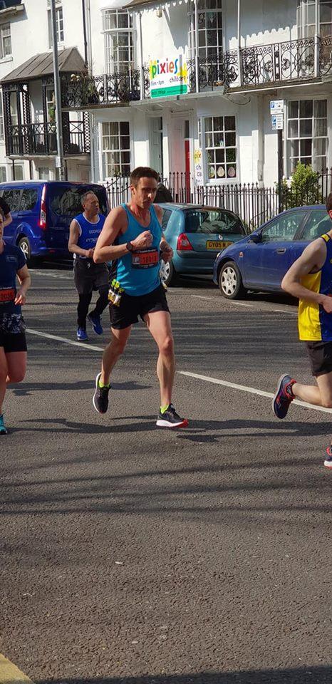 Brighton Marathon Rob Barton
