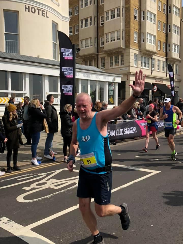 Brighton Marathon Steve Hickman (2)