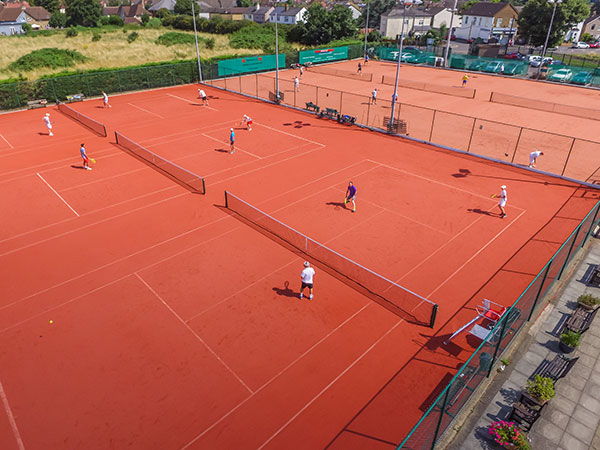 Ashford Tennis Club clay courts
