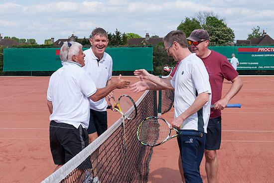 Mens team tennis