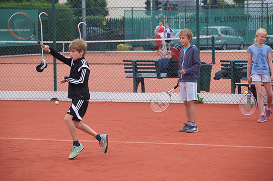 Junior tennis coaching Ashford Middlesex