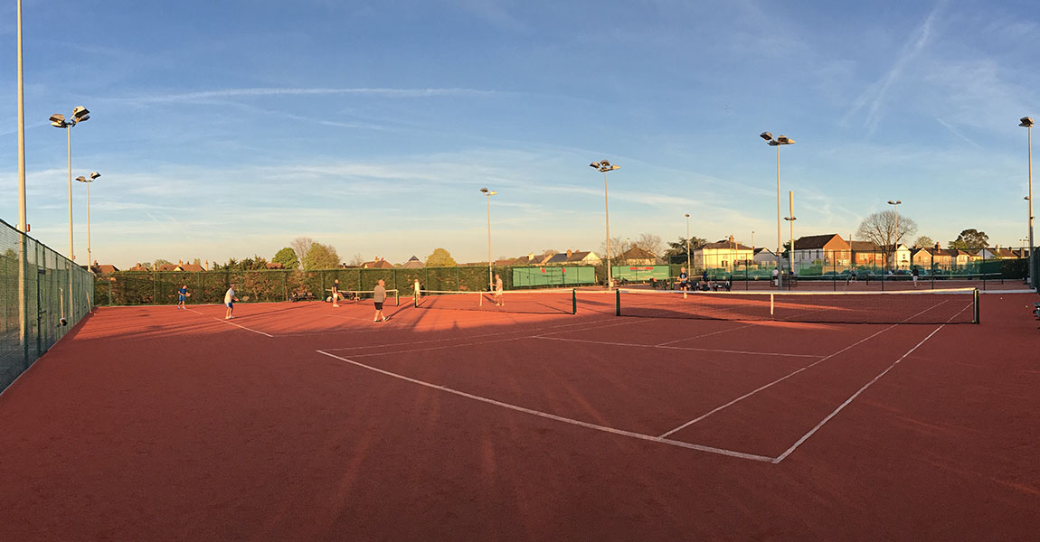New Clay Courts Installed