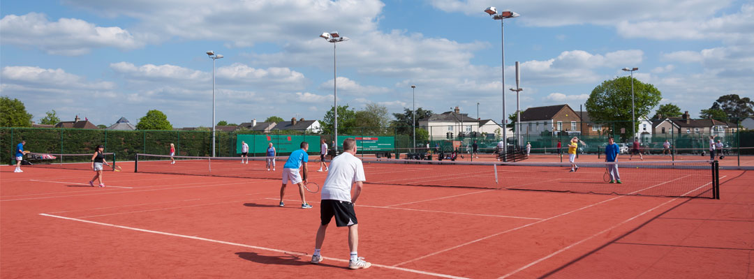 Adult tennis for all standards