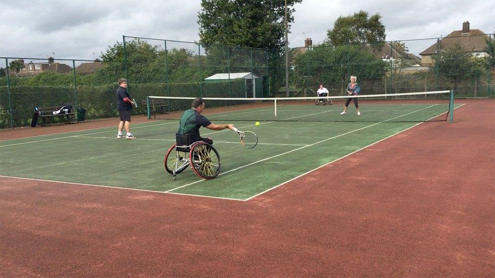 Wheelchair Tennis Tournament 2017