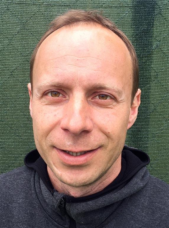 Petr Pospisil Tennis coach at Ashford Tennis Club