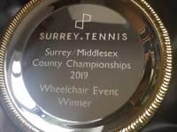 Wheelchair Tournament Success For Noel From Ashford Tennis Club