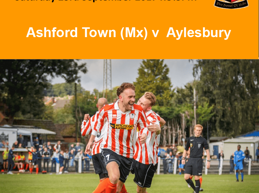 Programme Cover v Aylesbury, 23/09/17