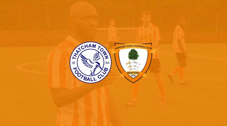 Thatcham Town FC vs Ashford Town (Middlesex) FC Preseason 2020