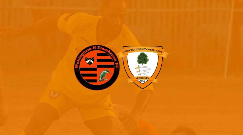 Wokingham & Emmbrook vs Ashford Town (Middlesex) FC Preseason Friendly 2020
