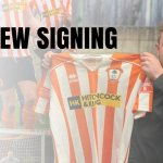 Ashford Town (Middlesex) FC New Signing Perry Coles