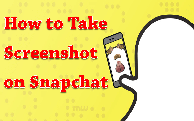 how to take screenshot on snapchat iphone