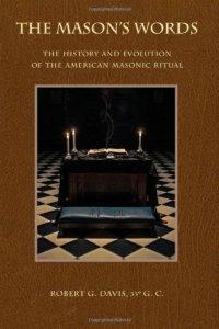 Robert G. Davis, The Mason's Words, book cover