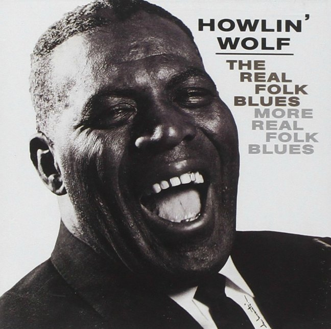 CD cover, Howlin' Wolf - The Real Folk Blues, Chess Records