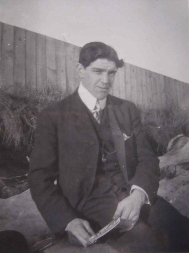 John Adam, circa 1914.