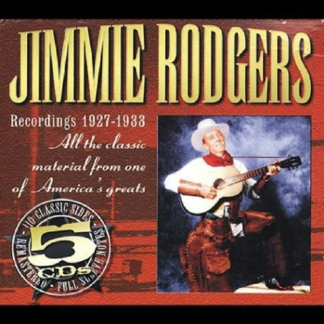 CD cover, Jimmie Rodgers Recordings 1927-1933, JSP Records