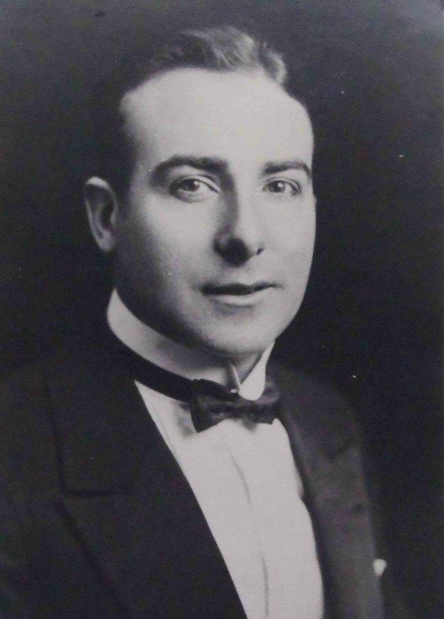 William Herbert Bate, Worshipful Master of Ashlar Lodge, No.3 in 1927