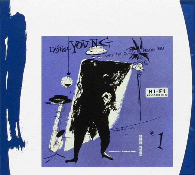 Lester Young With The Oscar Peterson Trio - CD cover