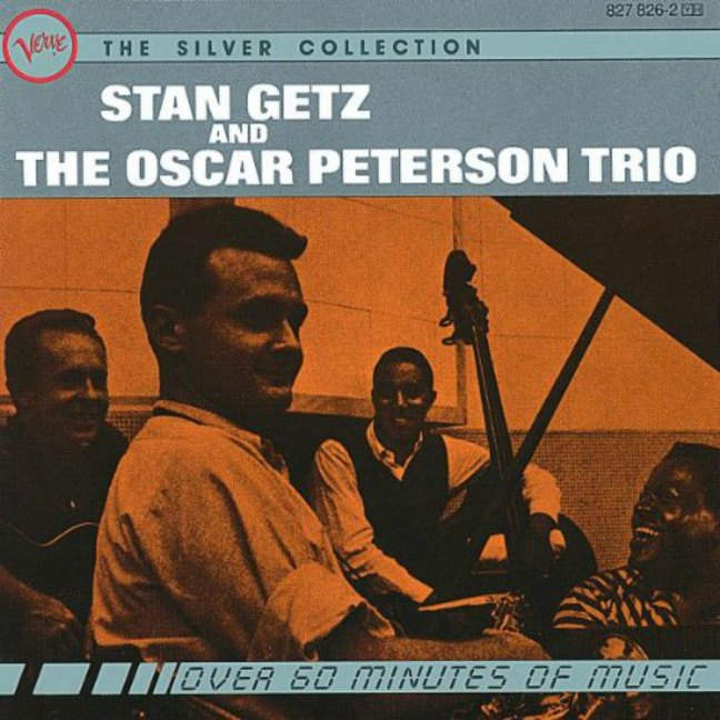 Stan Getz And The Oscar Peterson Trio - CD cover