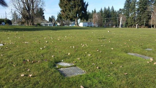Alexander Ross grave, Bowen Road Cemetery, Nanaimo, B.C.