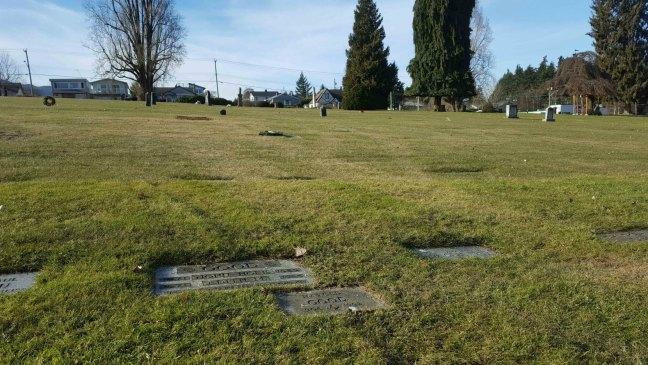 Harold Good grave, Bowen Road Cemetery, Nanaimo, B.C.