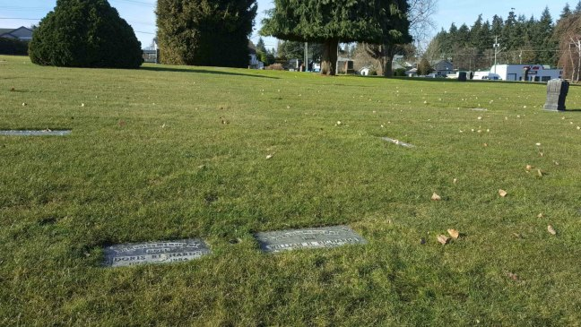 William Richards grave, Bowen Road Cemetery, Nanaimo, B.C.