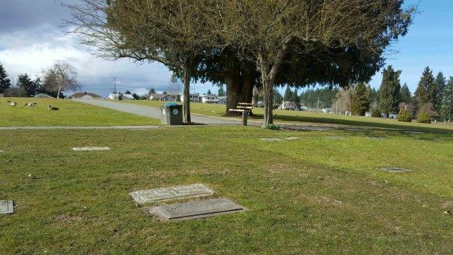John Frame, grave, Bowen Road Cemetery, Nanaimo, B.C.