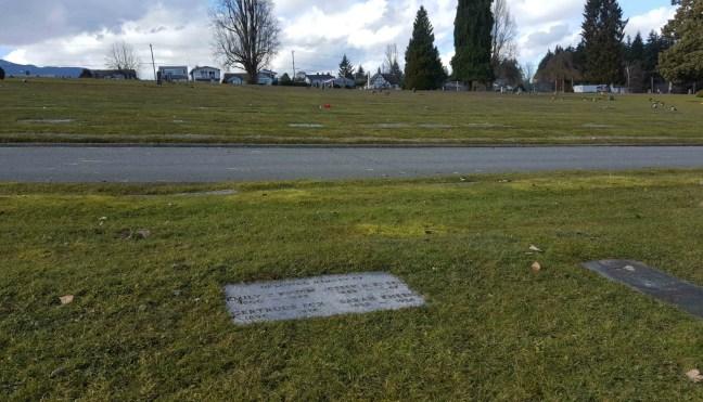Joseph Kneen grave, Bowen Road Cemetery, Nanaimo, B.C.