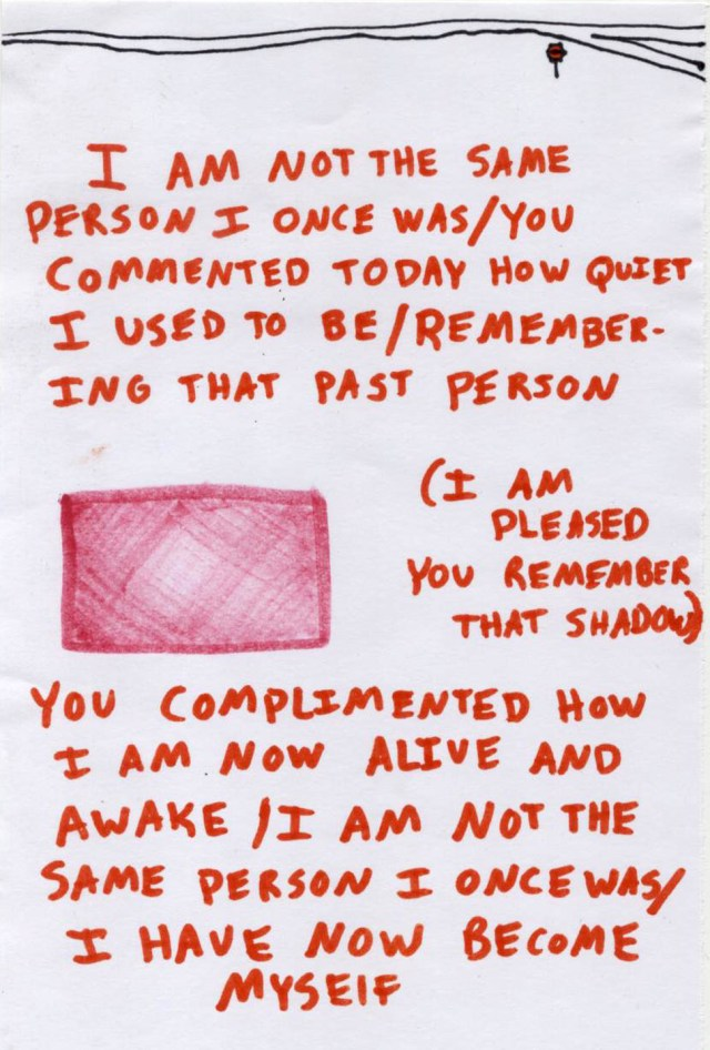 I am not the same person I once was // Ashlee Craft / Assemblage, Issue 1 - ashleecraft.com