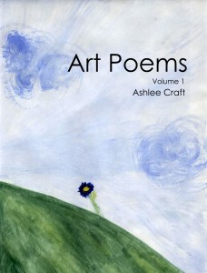 Art Poems, Volume 1 by Ashlee Craft - Cover