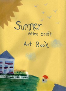 Summer Poetry Art Book by Ashlee Craft
