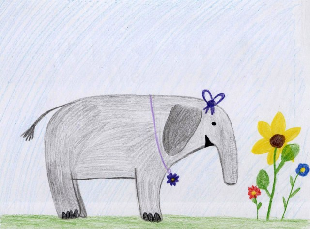 Blossom the Elephant, Volume 1 - Blossom & Flowers by Ashlee Craft