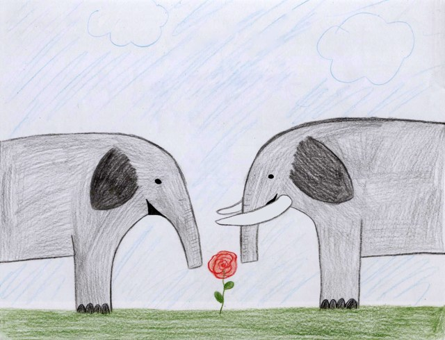 Blossom the Elephant, Volume 1 - Blossom's Parents by Ashlee Craft