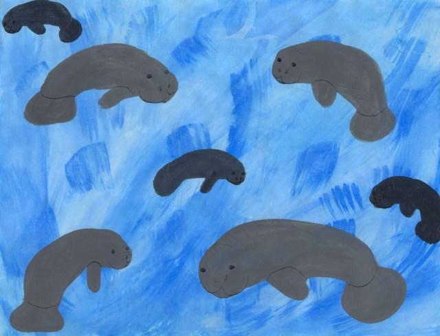 Manatees (Wonderful Wildlife, Book 1) by Ashlee Craft - Manatees