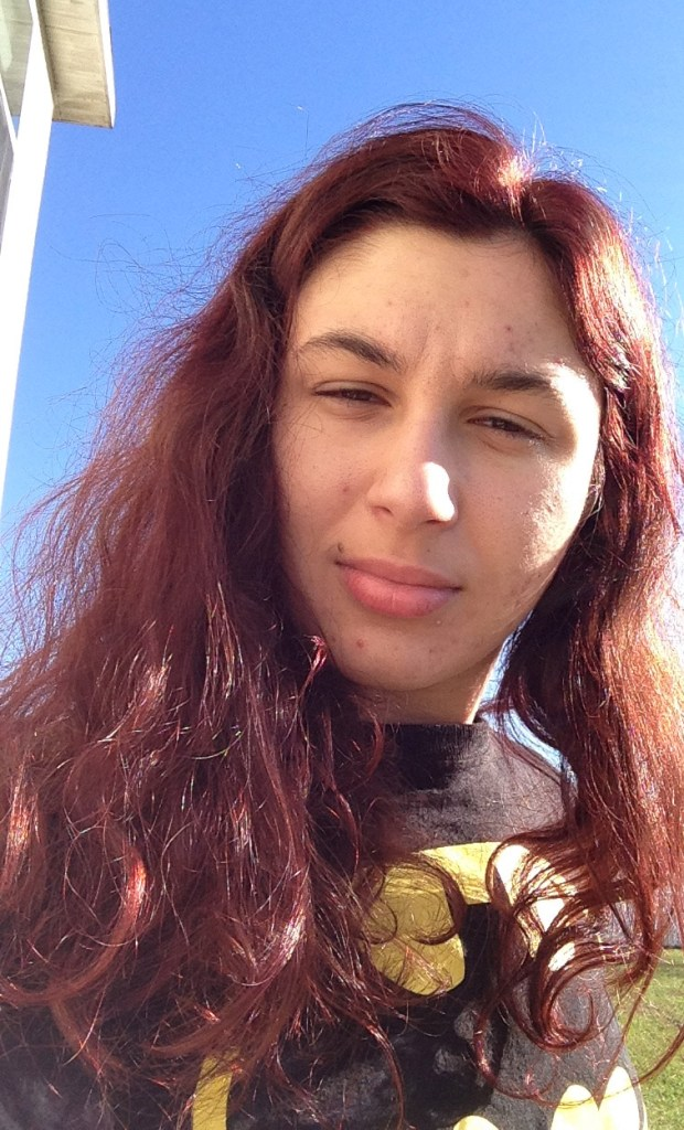 Ashlee Craft with Schwarzkopf Ruby Noir 1.8 hair