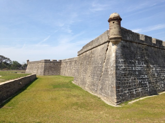 Castillo de San Marcos - St. Augustine - My Awesome Florida Road Trip
