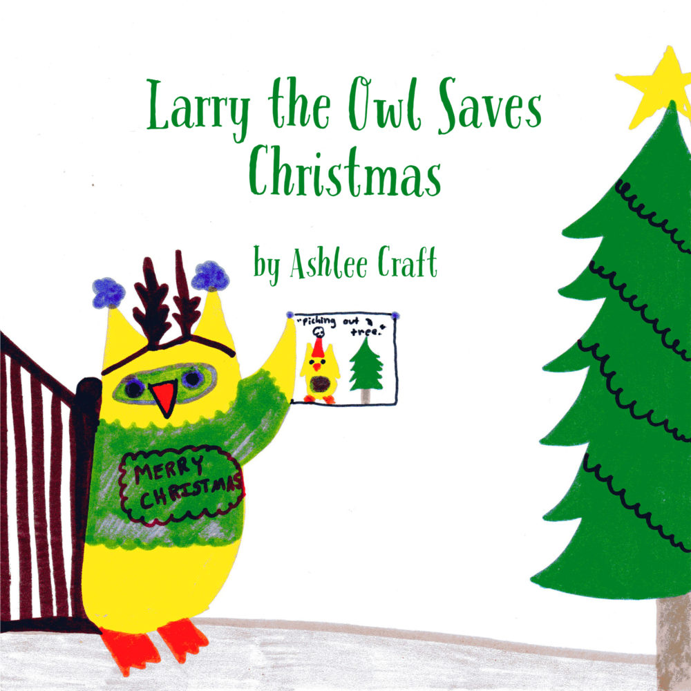 Larry the Owl Saves Christmas by Ashlee Craft