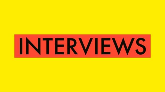 Interviews Banner