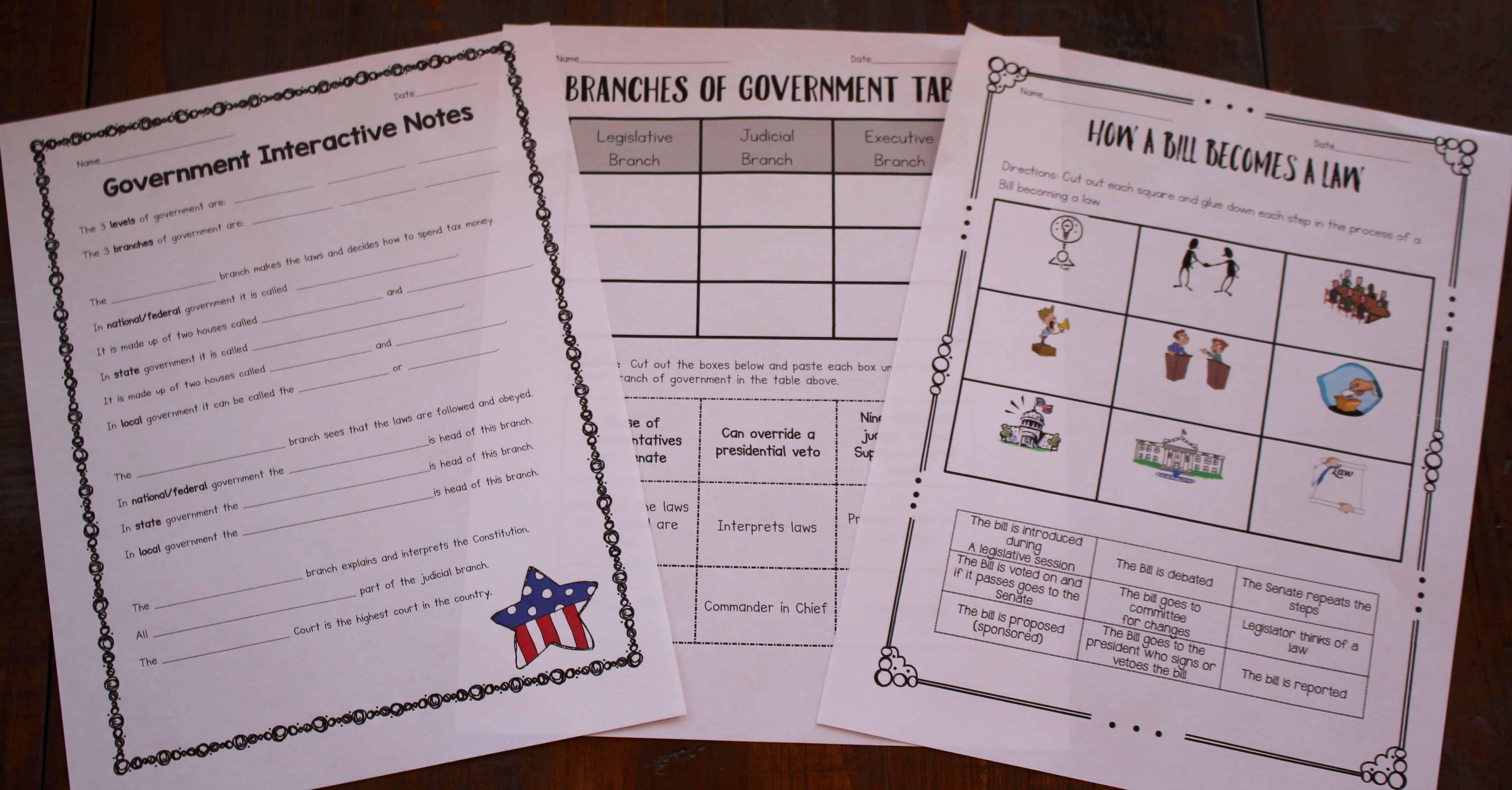 Ten Ways To Teach Government