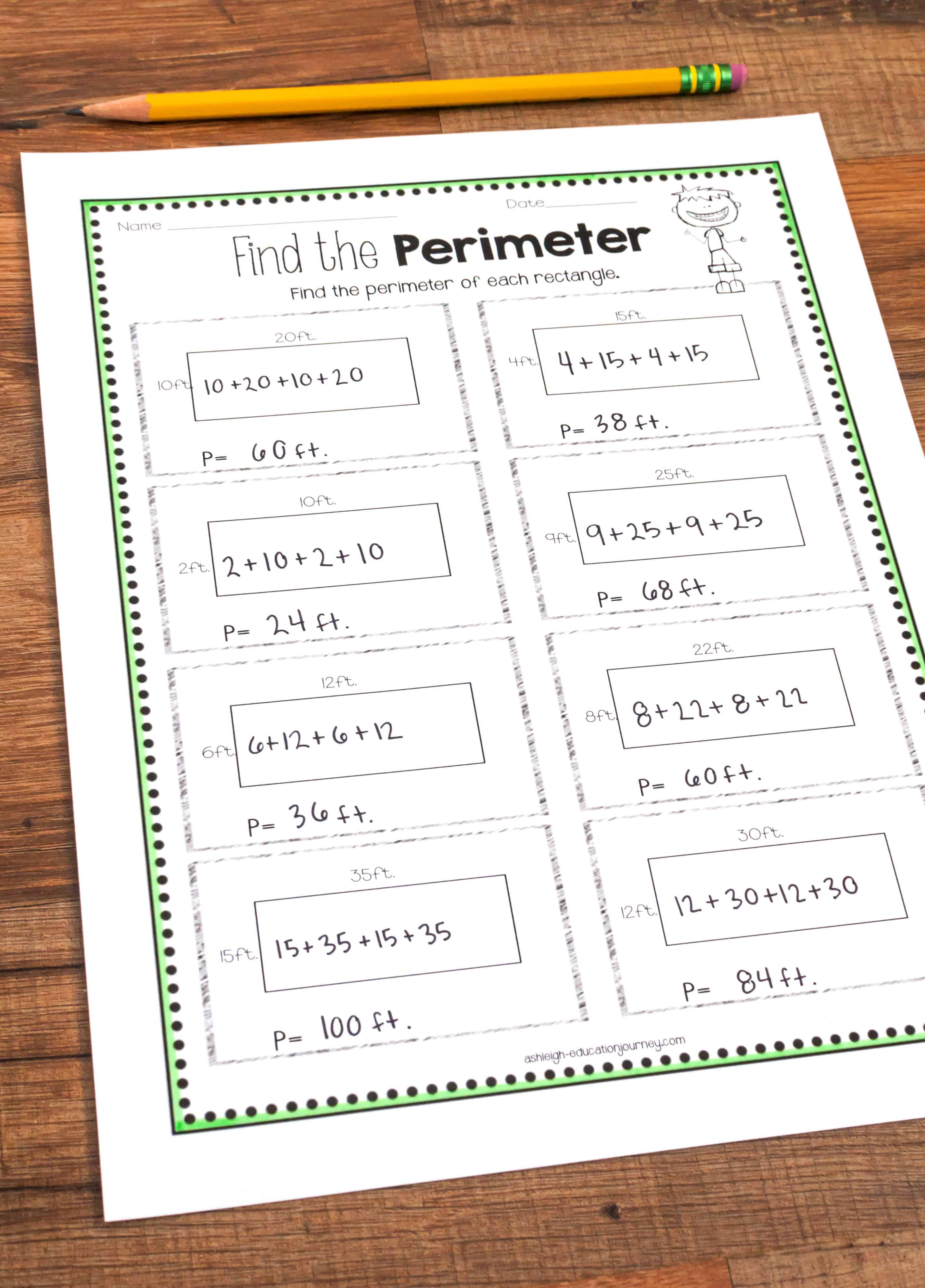 Teaching Area And Perimeter